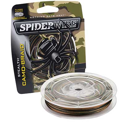 spiderwire camo braid