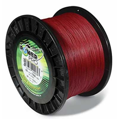 power pro vermillion red braid