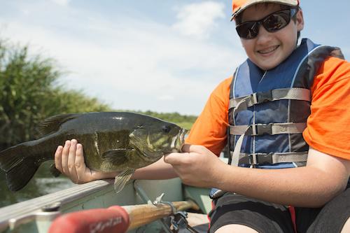 Smallmouth Bass Fish Sizing Chart
